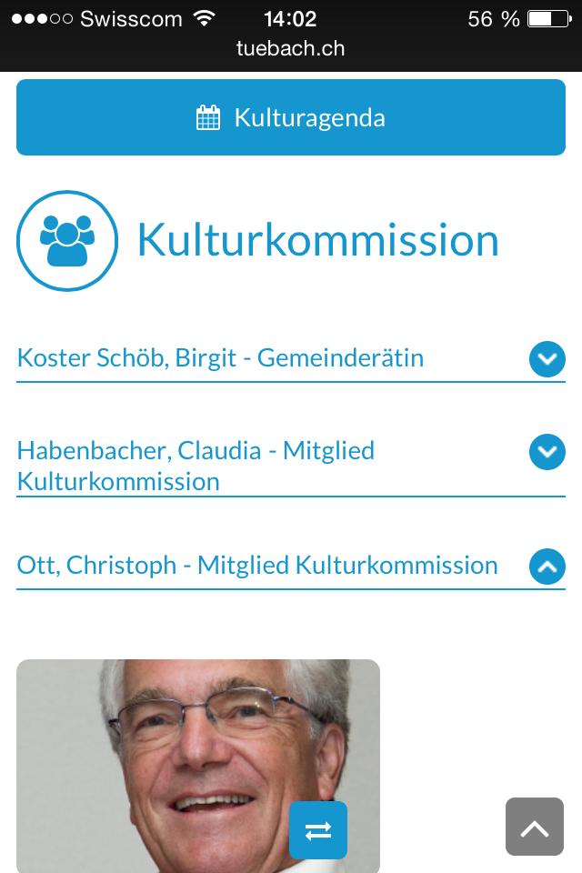 Mitarbeiter mobile tuebach.ch