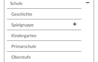 Menu mobile schule-tuebach.ch