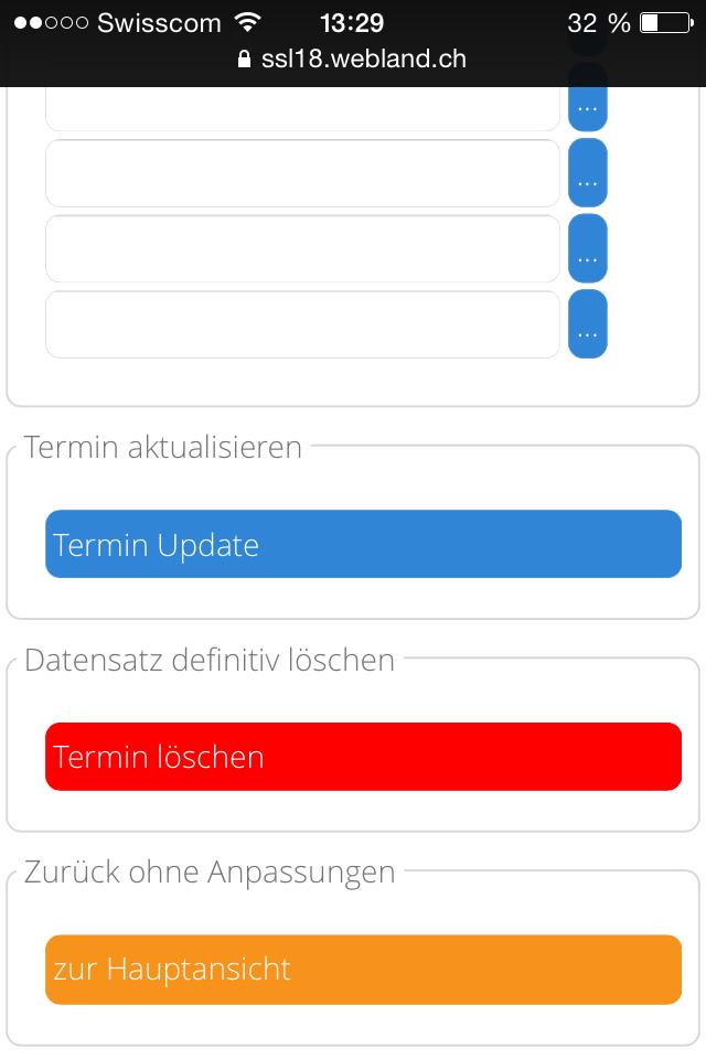 Terminplanung Mobile 7