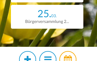 Footer mobile tuebach.ch