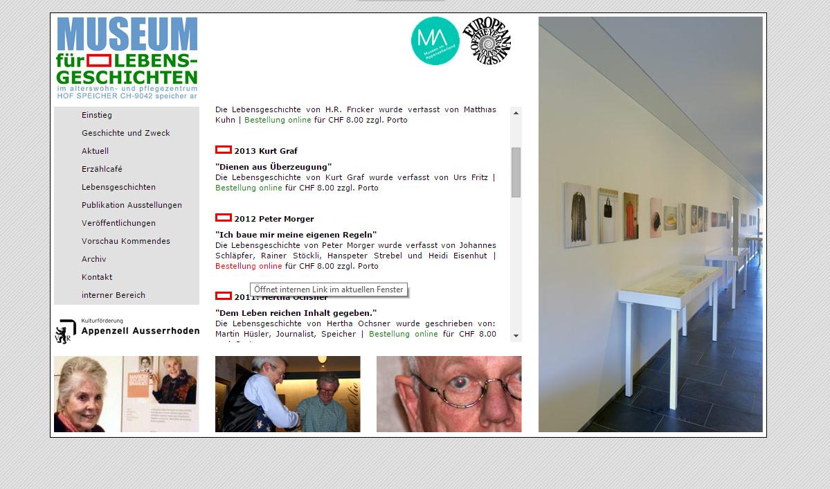 Museum Lebensgeschichten 3