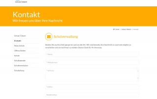 Kontaktformular schule-tuebach.ch