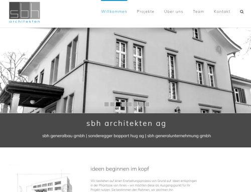 Neuerstellung sbh-ag.ch
