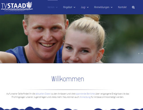 Redesign tvstaad.ch