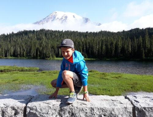 Wier waren beim Mt. Rainier